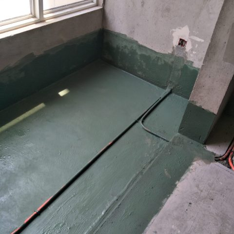中铁国际城品园-防水施工