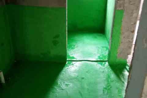 宝业城市绿苑西区-防水施工