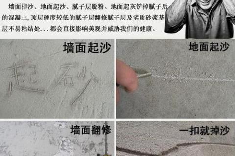 号称返砂克星的固砂宝是什么?和传统的墙固地固有什么区别?