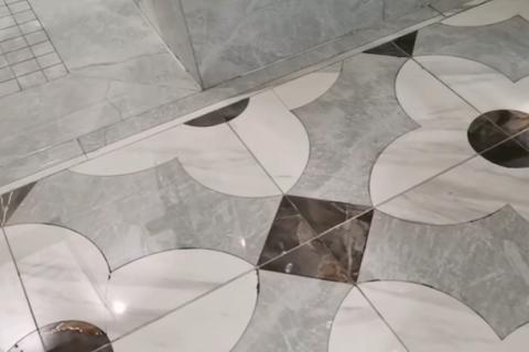轻奢水刀拼花瓷砖,有适合你家装修风格的吗?