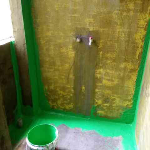 银领时代花园-防水施工