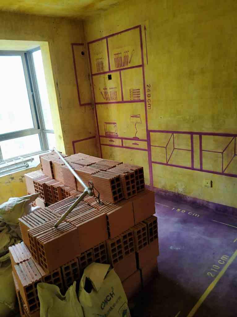 恒盛豪庭-黄墙紫地/全景放样