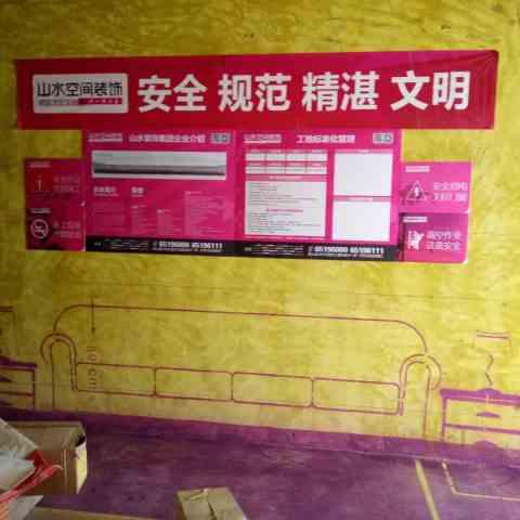 柏悦公馆-黄墙紫地/全景放样