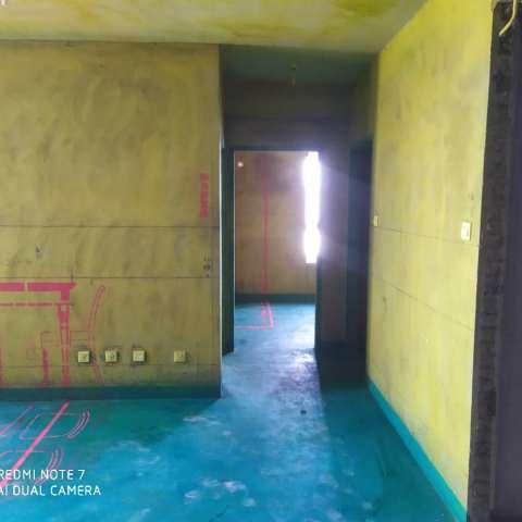 紫金公馆-黄墙绿地/全景放样/成品保护