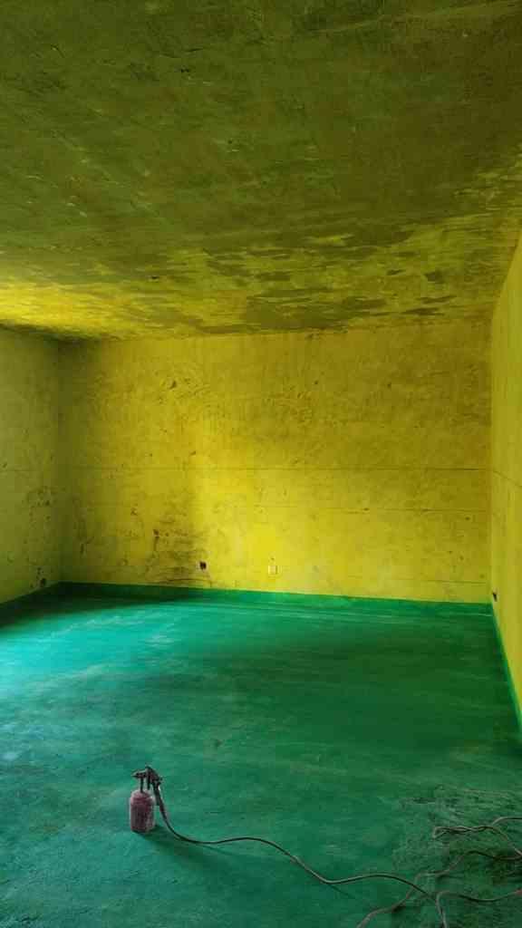 温莎杰座-黄墙绿地/全景放样/成品保护