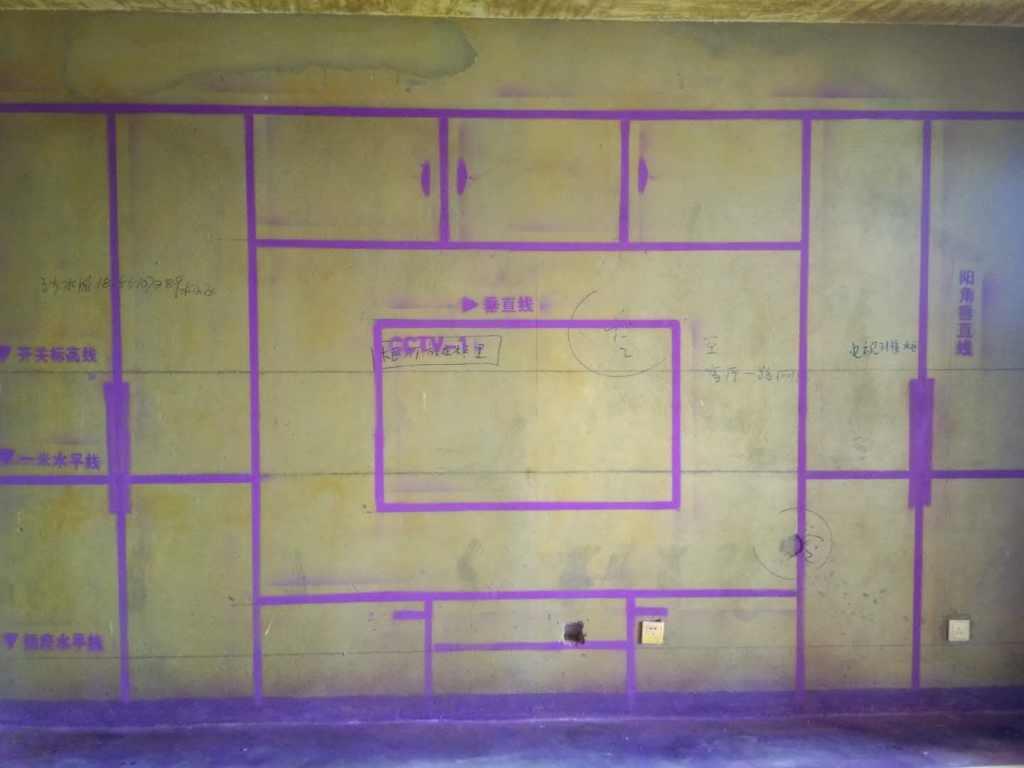 华盛大运城-黄墙紫地/全景放样