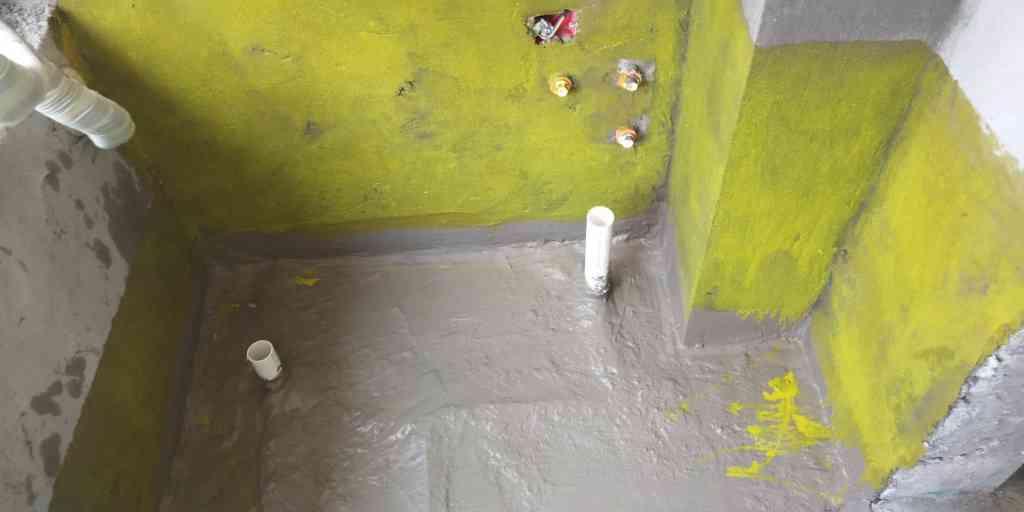 公元天下-防水施工