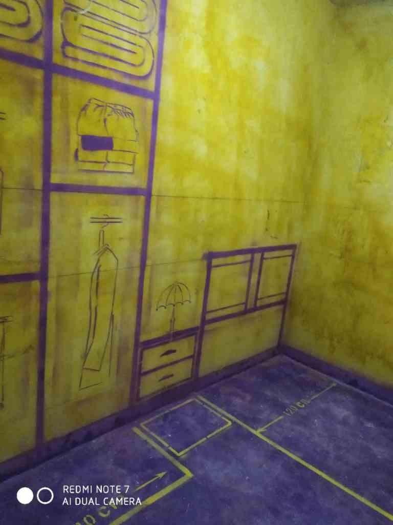 柏悦公馆-黄墙紫地加放样