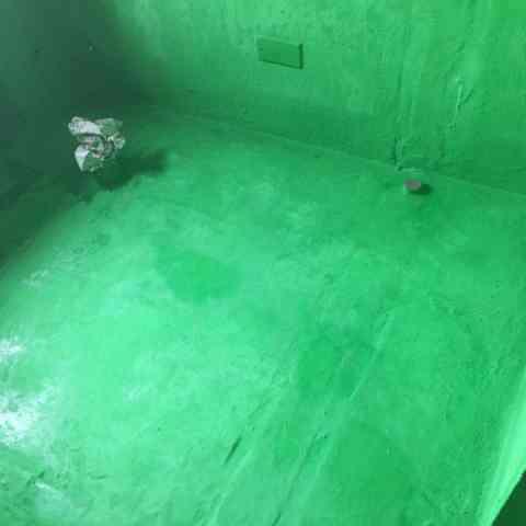 大富山庄-防水施工