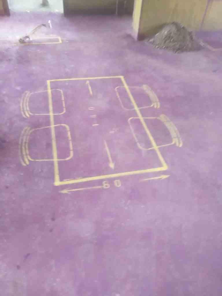 庐州樾-黄墙紫地/全景放样