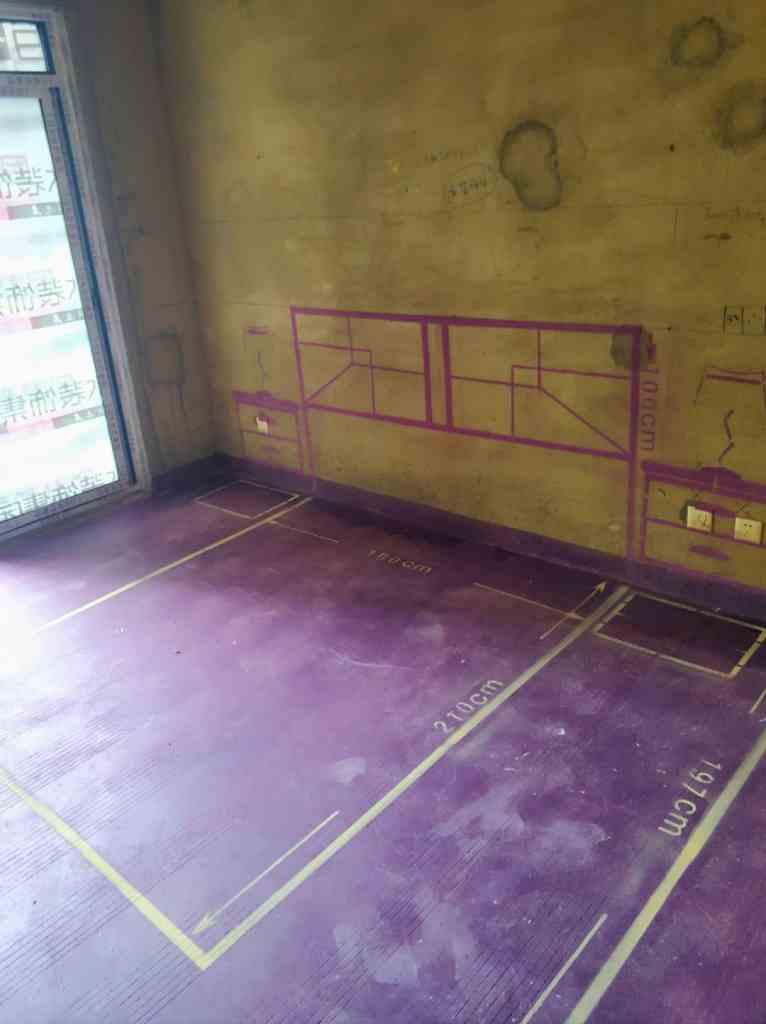 和谐花园-黄墙紫地/全景放样