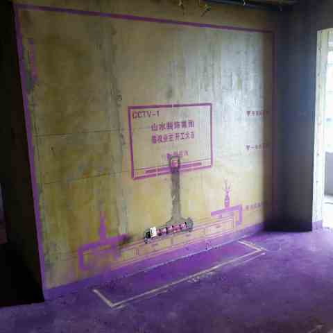 华盛大运城三期-黄墙紫地/全景放样