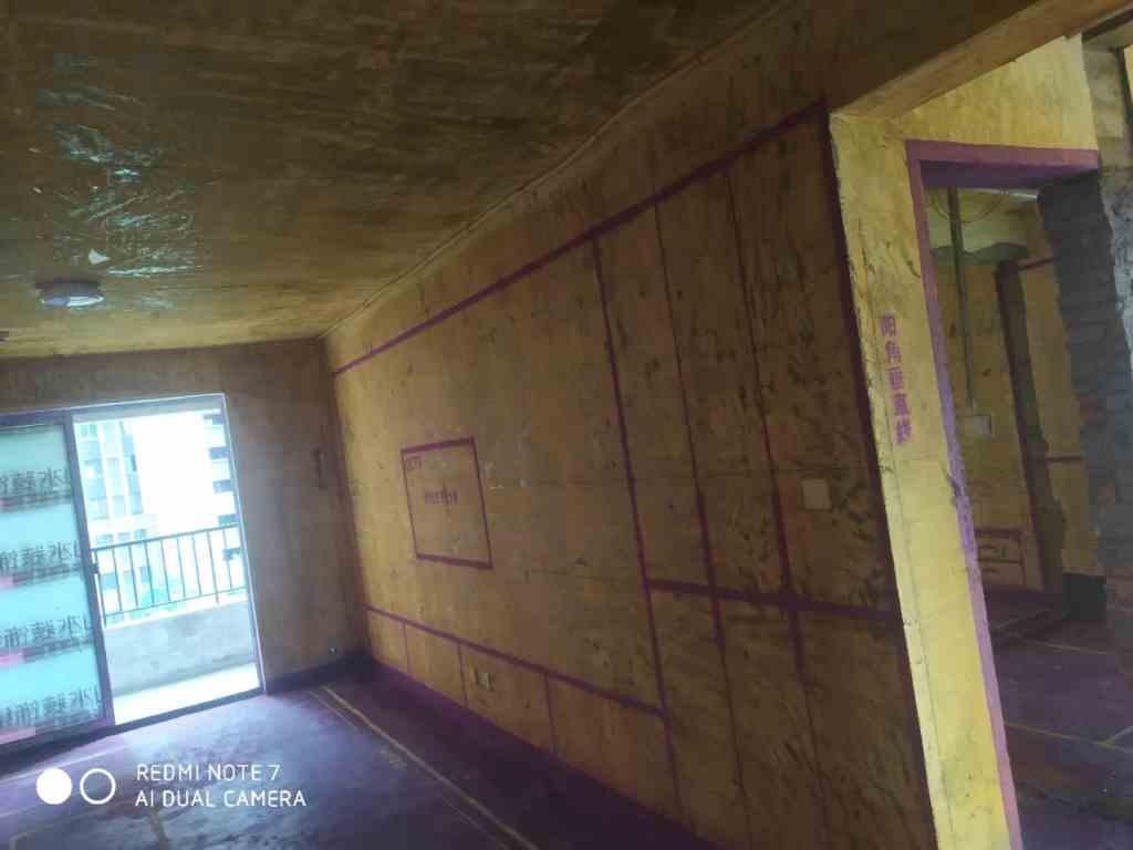滨湖公馆-黄墙紫地/全景放样
