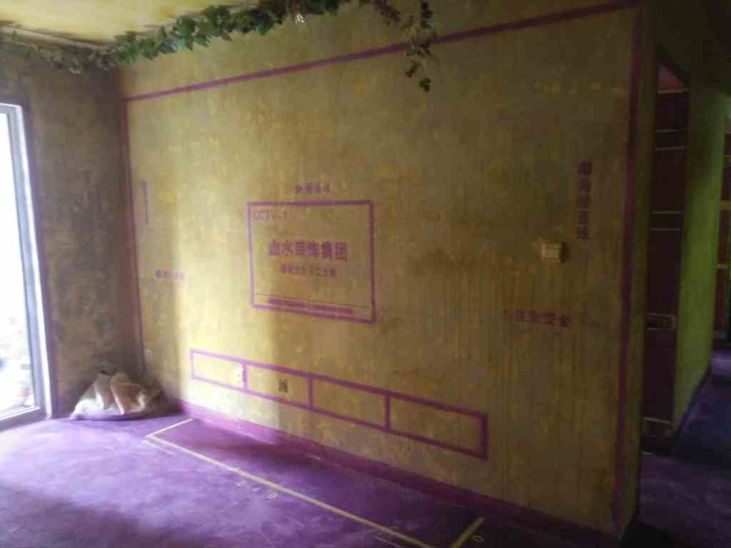 橡树湾-黄墙紫地/全景放样