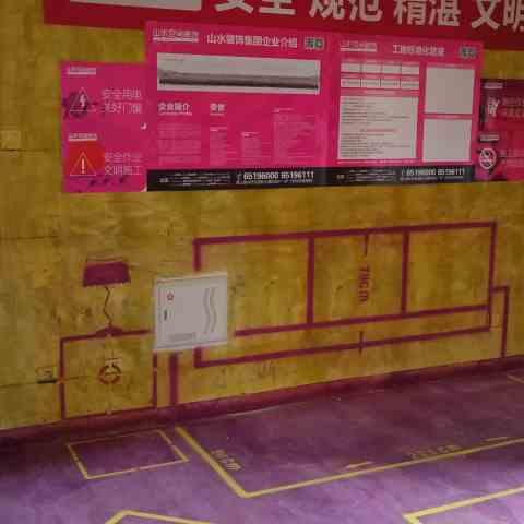 高速时代城-黄墙紫地/全景放样