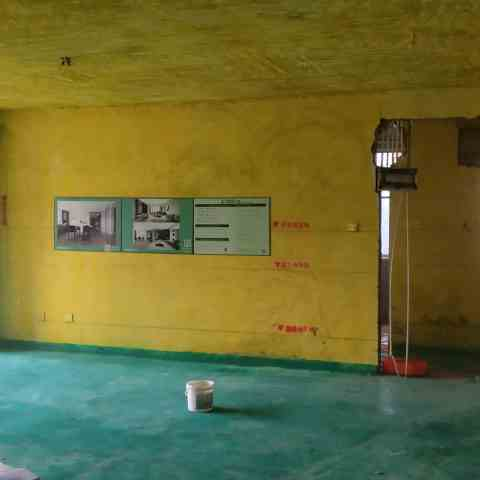 海顿公馆一期-黄墙绿地/成品保护