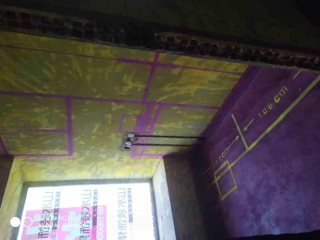 融科城-黄墙紫地/全景放样-山水装饰