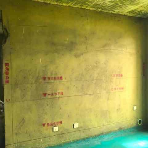 华冶家园-黄墙绿地/标准弹线-飞墨设计