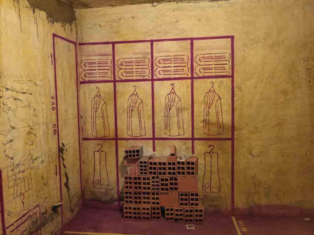 旭辉中央公园-黄墙紫地加放样-山水装饰