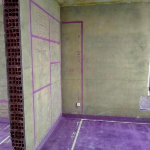 店忠家园-黄墙紫地/全景放样-山水装饰