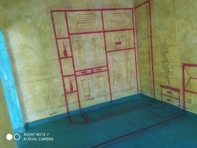 百商现代名苑-黄墙绿地/3D区间放样/成品保护-家美福装饰