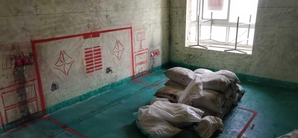 淝南家园南区-黄墙绿地/3D全景放样-大维装饰