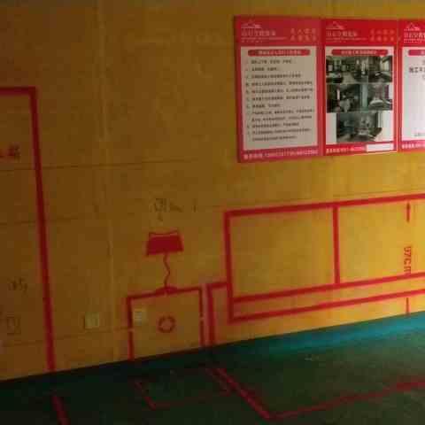 公元天下-黄墙绿地/3D全景放样-山石空间装饰