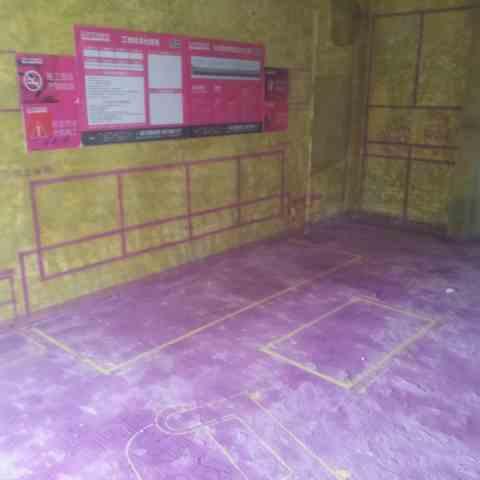 香江世纪名城-黄墙紫地/3D全景放样-山水装饰
