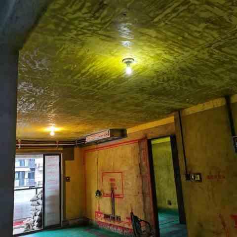 华地紫悦府-黄墙绿地加放样-金艺堂装饰