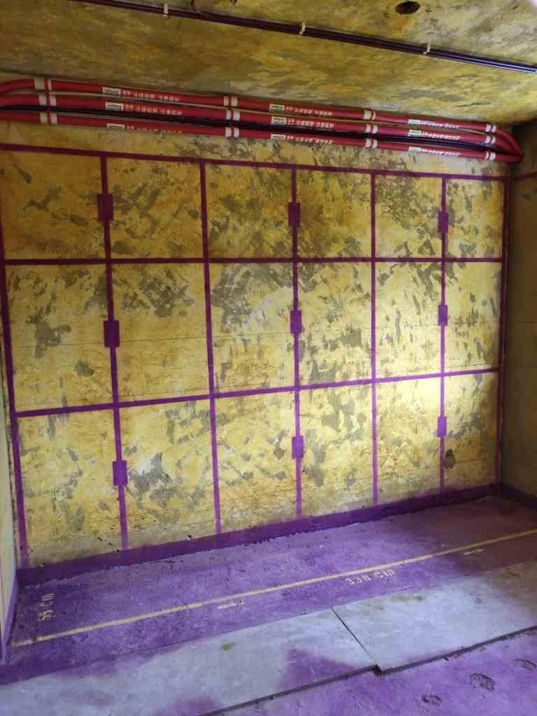 市政府第三生活区-黄墙紫地/3D全景放样-山水装饰