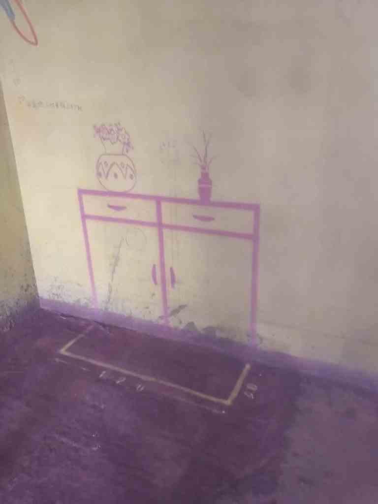 高速公馆-黄墙紫地/3D全景放样-山水装饰