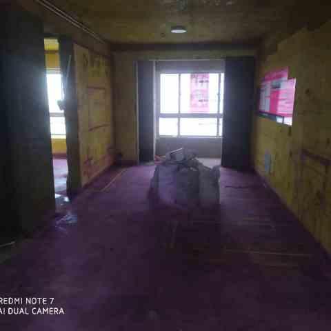 绿地新都会一期-黄墙紫地/3D全景放样-山水装饰