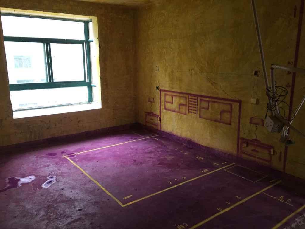 和谐家园-黄墙紫地/3D全景放样-山水装饰