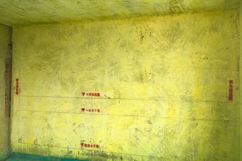 望湖城日桂苑-黄墙绿地/成品保护-飞墨设计
