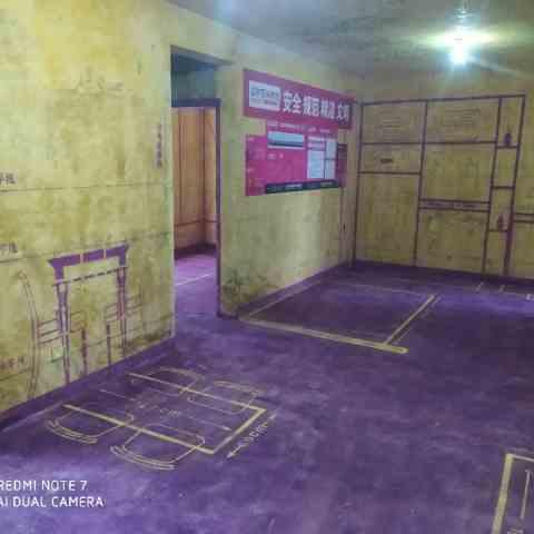 滨湖品阁-黄墙紫地/3D全景放样-山水装饰