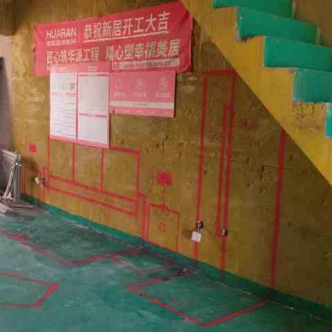 塘溪津门-黄墙绿地/3D全景放样-华然装饰