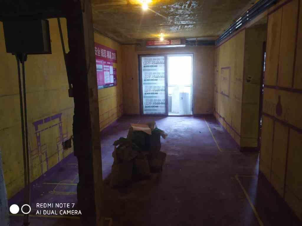 翡翠首府-黄墙紫地/3D全景放样-山水装饰