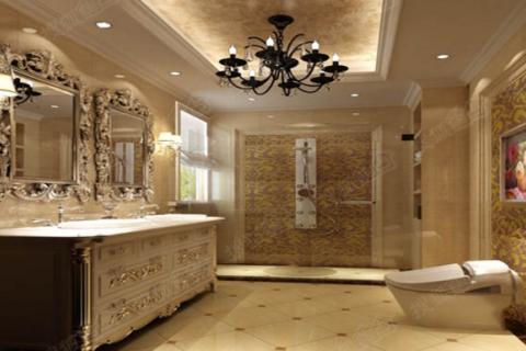 新房装修卫生间淋浴房用瓷砖铺贴地面还是大理石铺贴好!