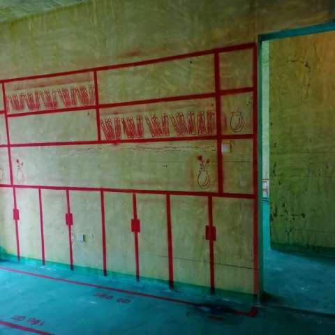 乔治庄园-黄墙绿地/3D全景放样-大维装饰