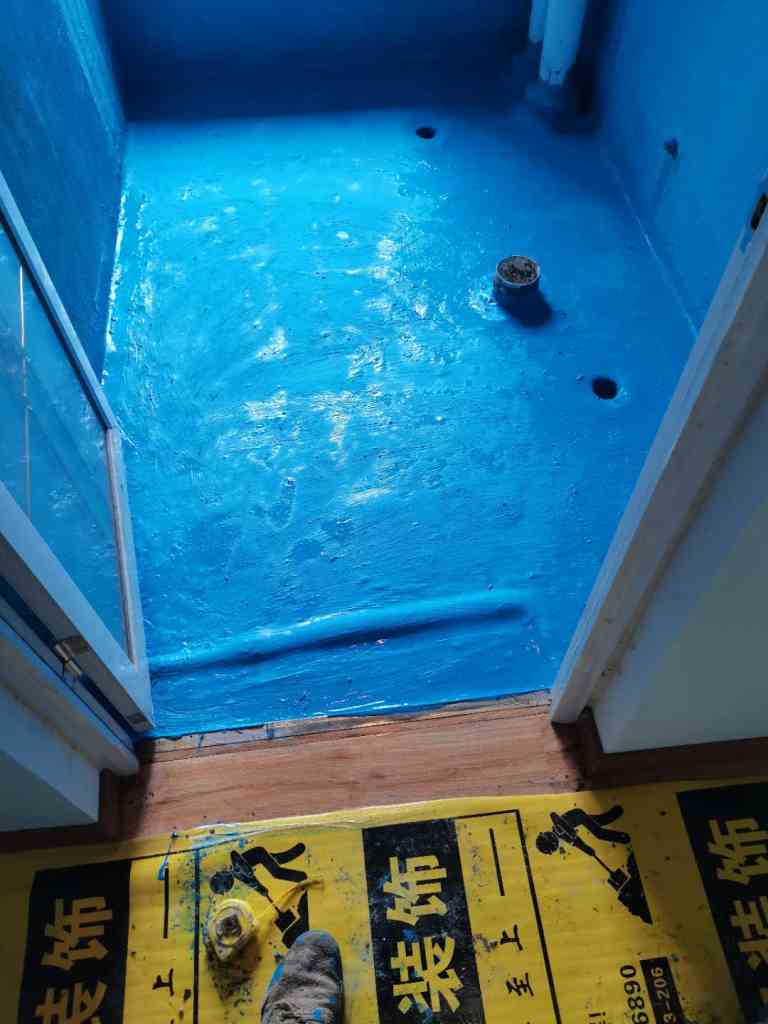 天珑广场-防水施工