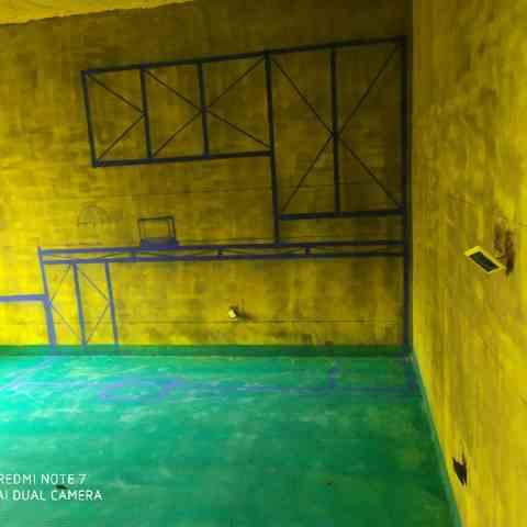 公园里-黄墙绿地/3D全景放样