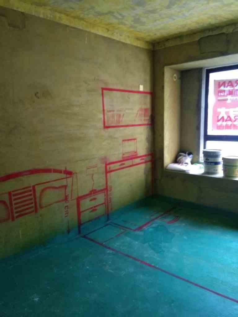 华地森林湖-黄墙绿地/3D全景放样-华然装饰