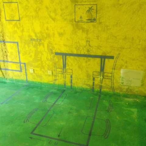 北城世纪城吉徽苑-黄墙绿地/3D全景放样-百度装饰