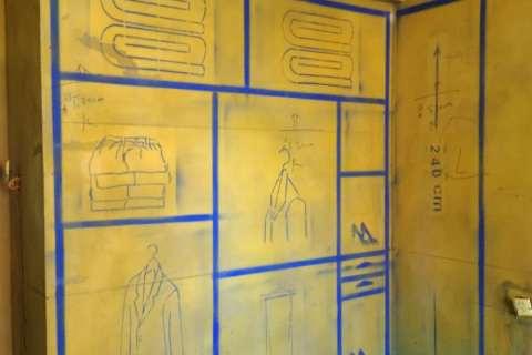 大富新领地-黄墙紫地/3D全景放样-百度装饰
