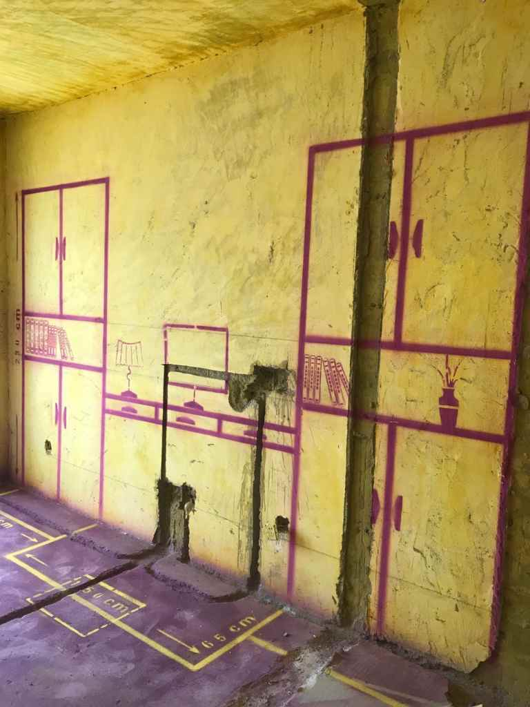 海顿公馆-黄墙紫地/3D全景放样-山水装饰