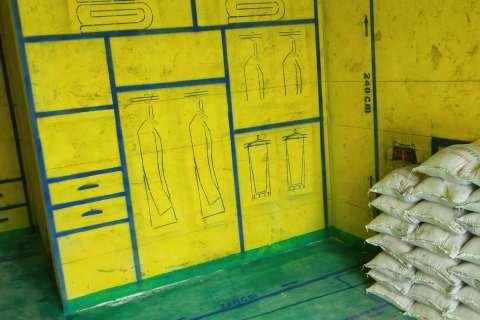 金色梧桐-黄墙绿地/3D全景放样-百度装饰