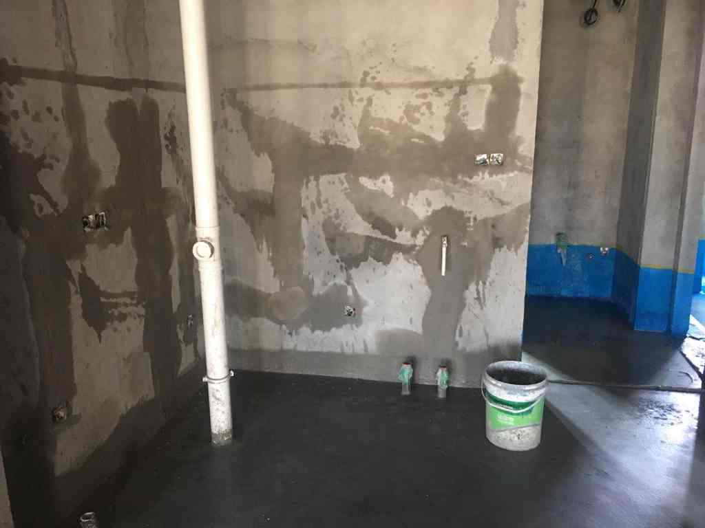 东湖高新合肥创新中心二期-防水施工