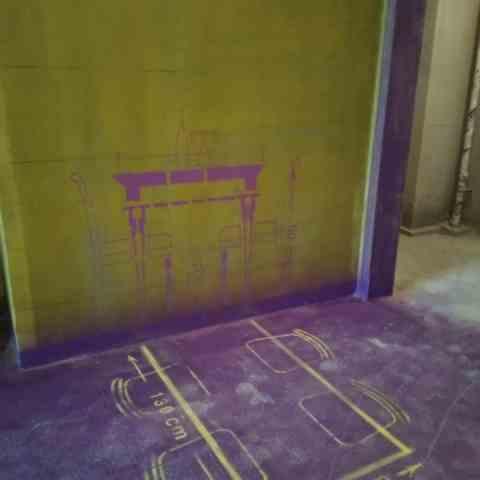 当代未来城-黄墙紫地/3D全景放样-山水装饰