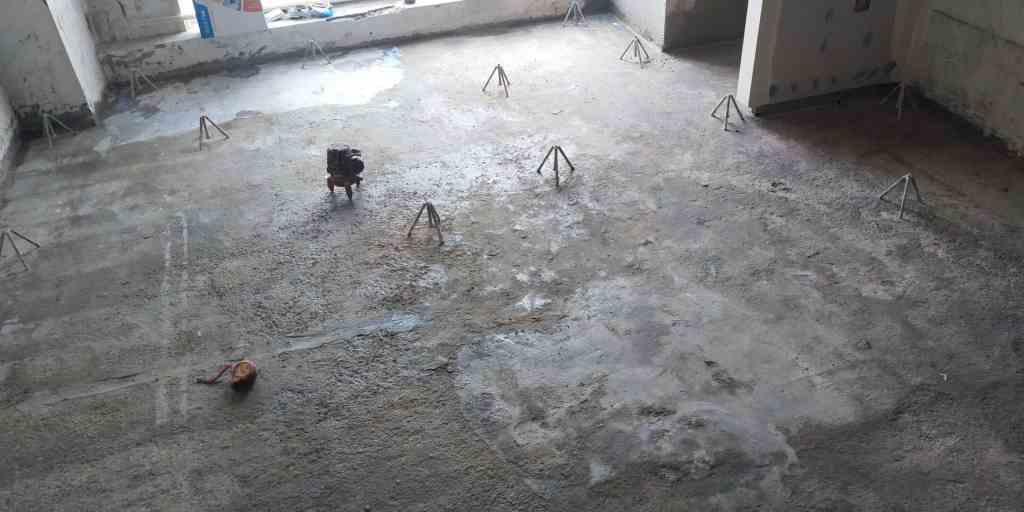 大麦公寓-厚层自流平/石膏自流平找平-山水装饰