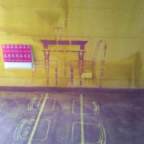 龙湖春江郦城-黄墙紫地/3D全景放样-山水装饰